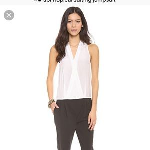 9d79588b4b73 Tibi Tropical Suiting Jumpsuit - Size 8